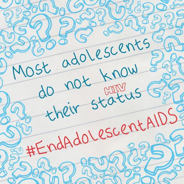 #endadolescentAIDS