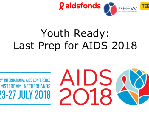 Вебинар «Youth Ready: Last Prep for AIDS2018»