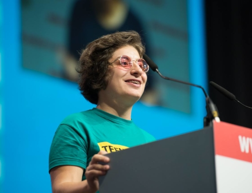 Plenary speech by Yana Panfilova at AIDS2018