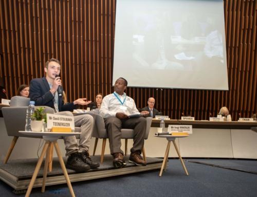 Спич Дани Столбунова на UNAIDS Programme Coordinating Board