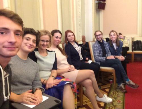Активисты Teenergizer на заседании Парламентского Комитета по вопросам молодежи